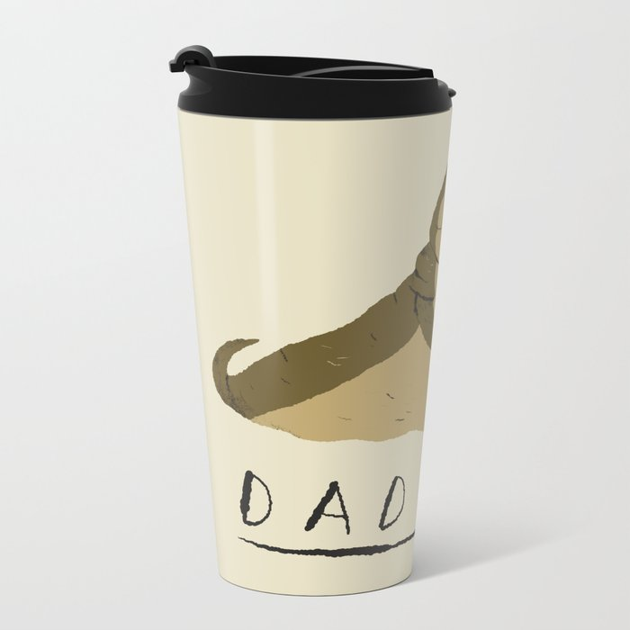 dad bod Metal Travel Mug