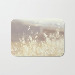 Vintage Wildflowers Bath Mat