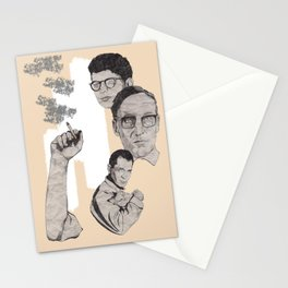 Burroughs, Ginsberg and Kerouac Stationery Cards