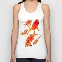 goldfish Tank Tops featuring Goldfish by Regan's World