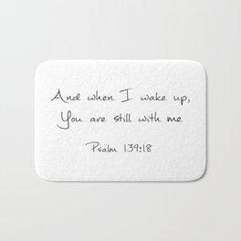 Psalm 139:18 Bath Mat