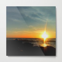 Oceanic dawn 2 Metal Print