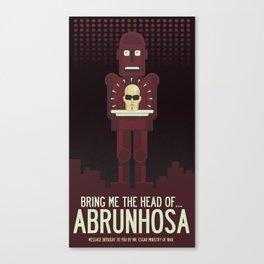 Bring Me The Head of Abrunhosa Canvas Print