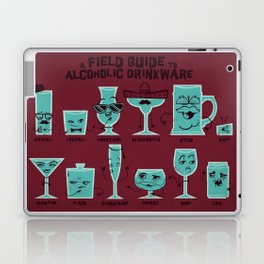 Field Guide to Alcoholic Drinkware Laptop & iPad Skin