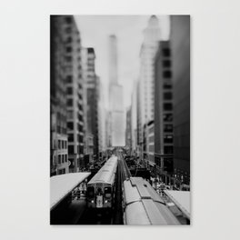 "the ""L"" ... Canvas Print"