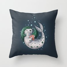 Selkie @ Play Throw Pillow