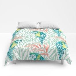 Tropical Pastels Comforters