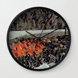 Tulip Hydrant 2 Wall Clock