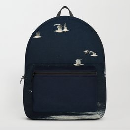 sea - evening flight Backpack