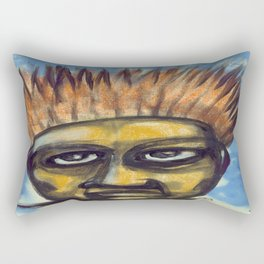 Surf's Up ~ Indonesia Art by Ali Rectangular Pillow