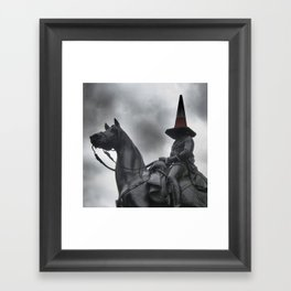 Glasgow Humour Framed Art Print