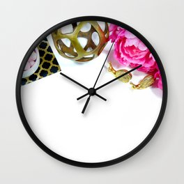 Hues of Design - 1023 Wall Clock