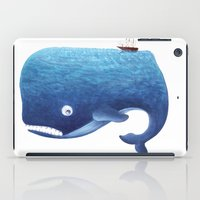 dick iPad Cases featuring Moby Dick by Arianna Usai