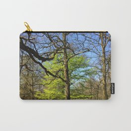 Spring Trees in Dunham Massey Park, England Carry-All Pouch