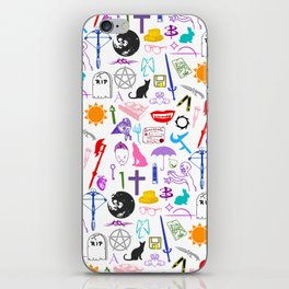 Buffy Symbology, Multi-color / Rainbow / PRIDE! iPhone Skin