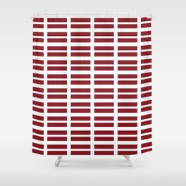 flag of latvia - Latvian, Latvija,riga,baltic,letonia Shower Curtain