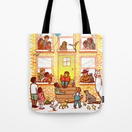 Neighborhood Read Aloud Tote Bag