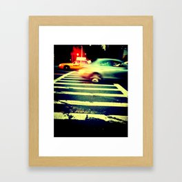 CROSSING.GUARD Framed Art Print