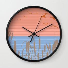 Retro Marsh Wall Clock