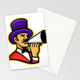 Circus Ringleader or Ringmaster Mascot Stationery Cards