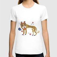 tiger T-shirts featuring tiger by echo3005