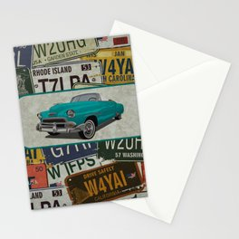 License Please Stationery Cards