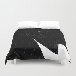 Elefante Blanco Duvet Cover