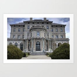 The Breakers Mansion2 - Newport, Rhode Island Art Print