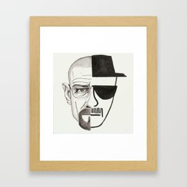 i started watching breaking bad when it was streaming on netflix Framed Art Print