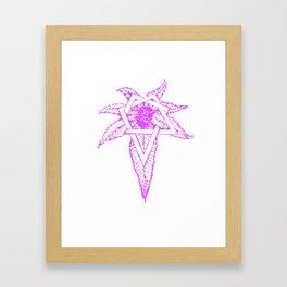 Heptagram  Framed Art Print