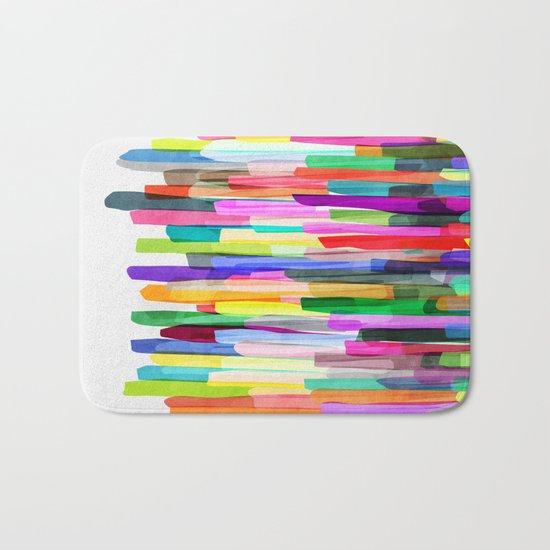 Colorful Stripes 4 Bath Mat