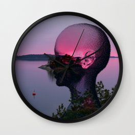 Yearning Wall Clock