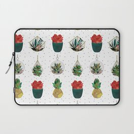 Festive Succulents Laptop Sleeve