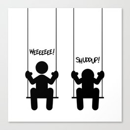 Mood Swings Canvas Print