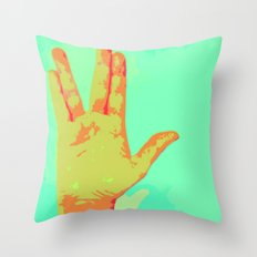 Live Long and Prosper - Spock Love Throw Pillow