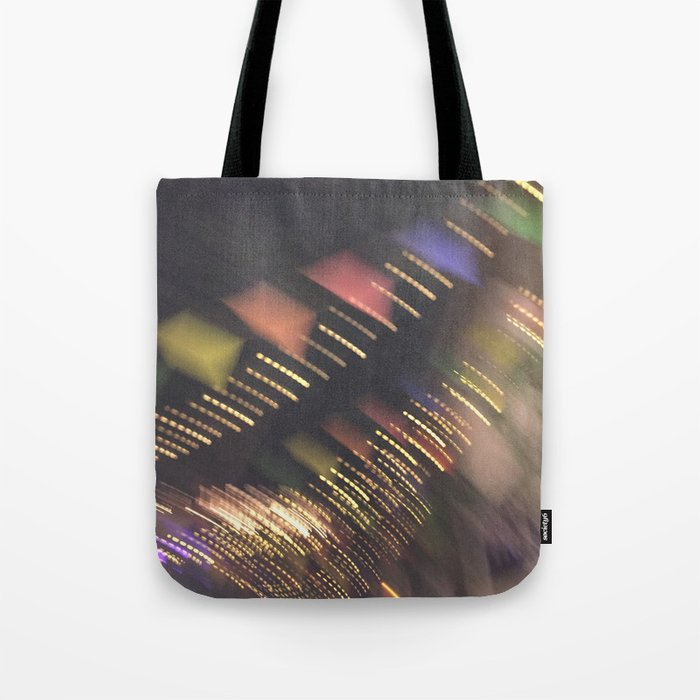 Lights and Pennants Tote Bag