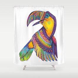 Oaxacan Toucan Shower Curtain