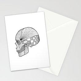 Tweny One Pilots Skull (REDUX) Stationery Cards