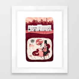 Brothel Framed Art Print