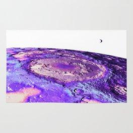 Moon Surface Lavender Rug