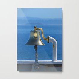 Ringing in the day Metal Print