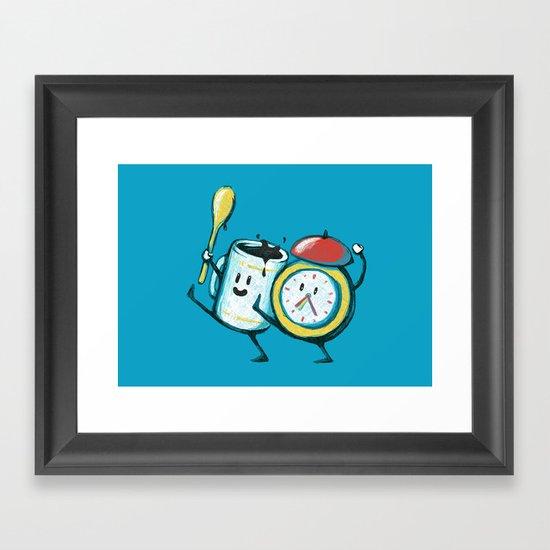 Wake up! Wake up! Framed Art Print