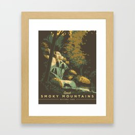 Great Smoky Mountains National Park Framed Art Print