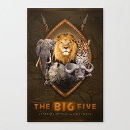 The Big Five Canvas Print