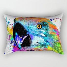 Ara Parrot Rectangular Pillow