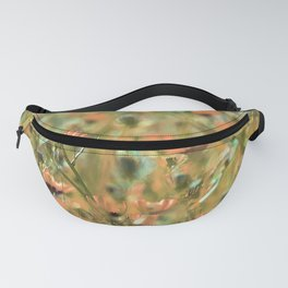 Spring wildflowers Fanny Pack