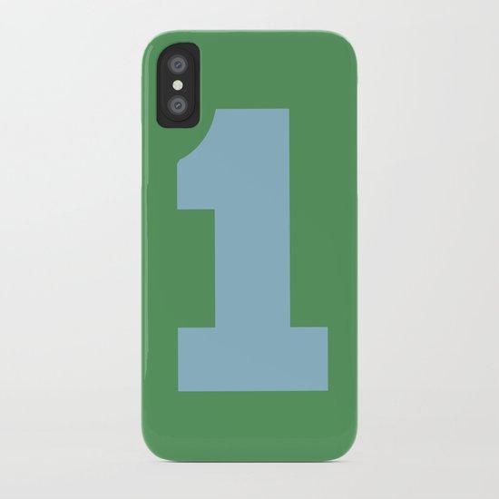Number 1 iPhone Case