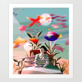 In this Dream Art Print
