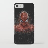 spider man iPhone & iPod Cases featuring Spider Spider-Man by Diego Farias