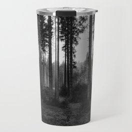Black and White Forest 2 Travel Mug